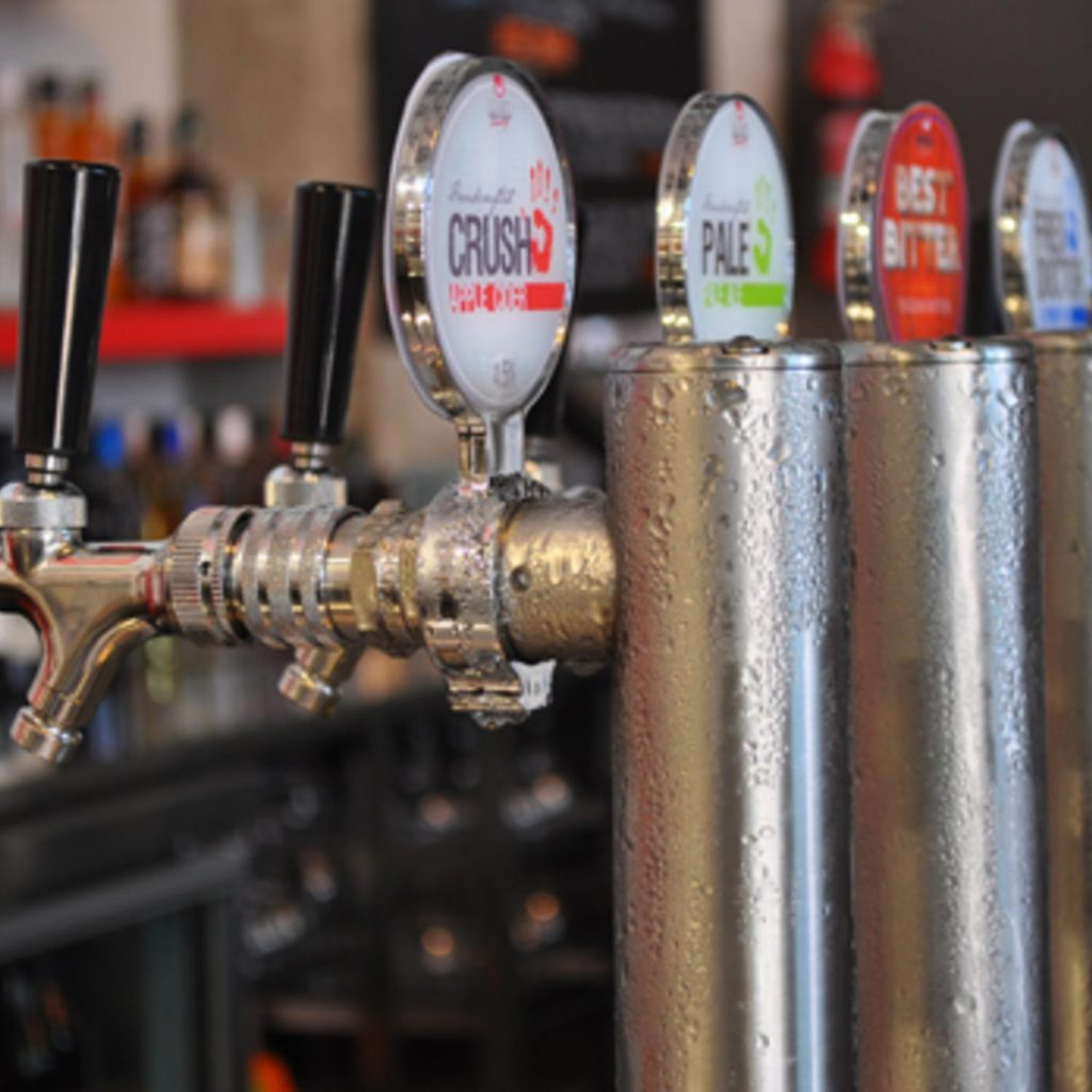 draught beer dispensing and gas safety equipment